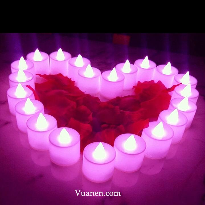 mua bán nến tealight cho tình yêu