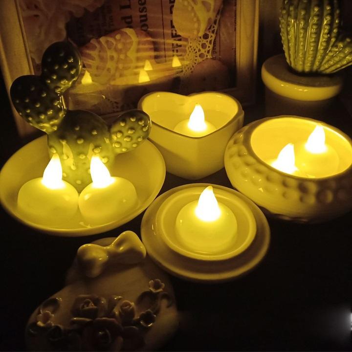 Nến tealight thả nước vỉ 12 chiếc