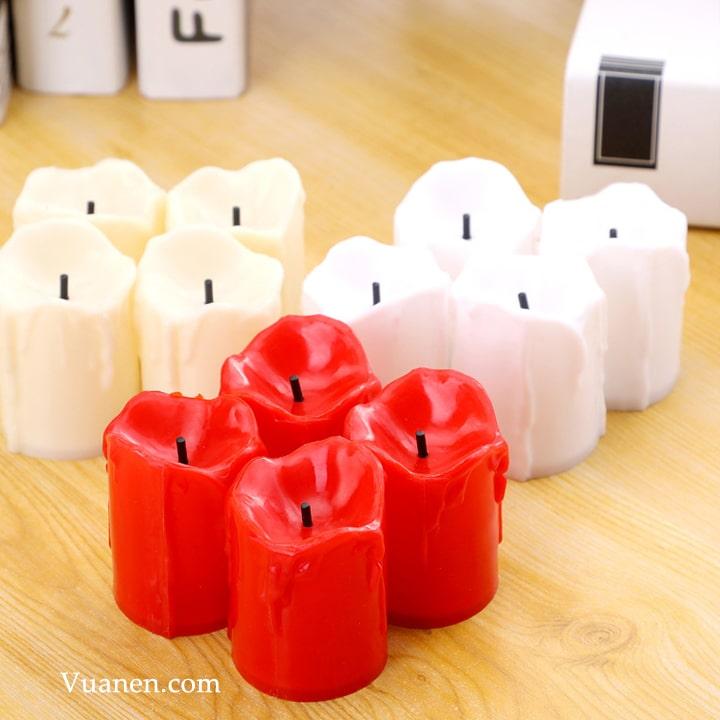 Nến tealight điện tử mini cao 3.5cm