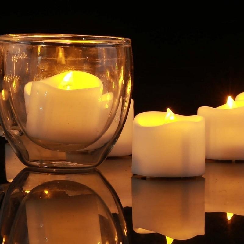 nến cốc tealight để trang trí rất đẹp