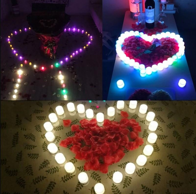 # 1Hướng dẫn trang trí sinh nhật bằng nến điện tử tealight đơn giản không lo cháy nổ
