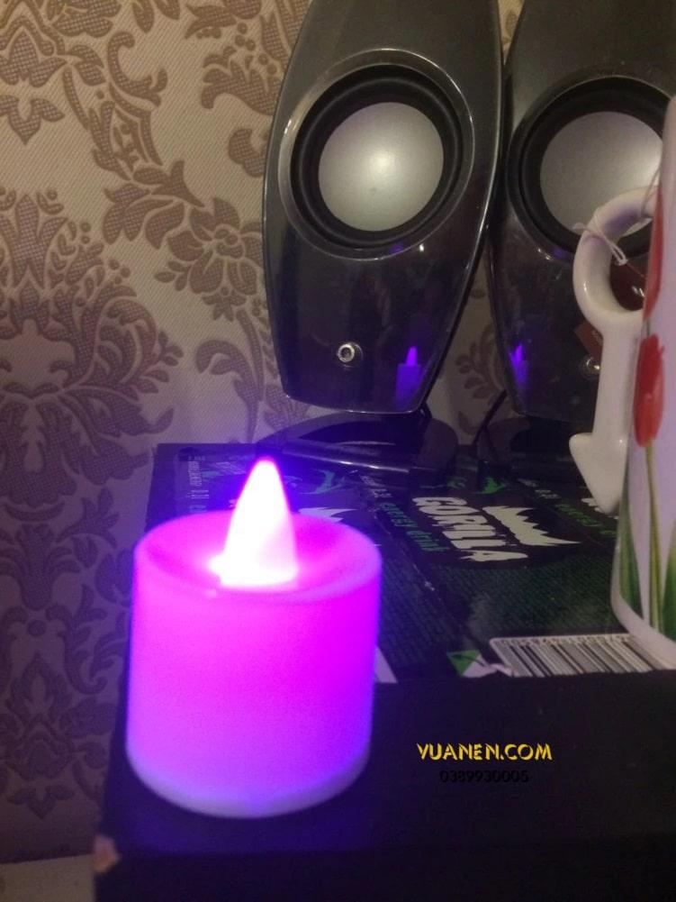 tealight điện tử cho nhiều màu sắc