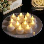 Hiệu quả khi trang trí những chiếc nến tealight thả nước trong buổi tiệc