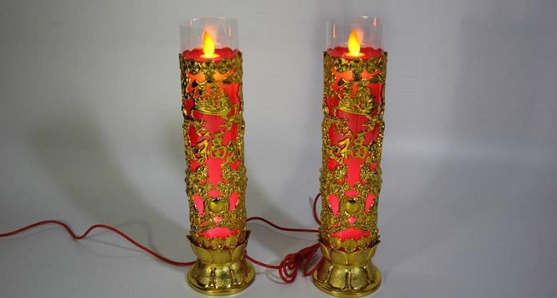 Cách làm đèn bàn thờ