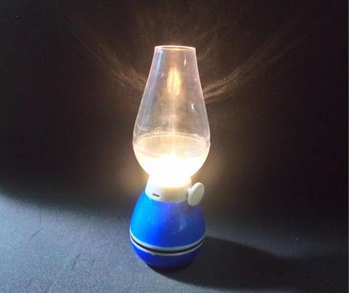 chiếc đèn dầu tỏa sáng trong đêm tối