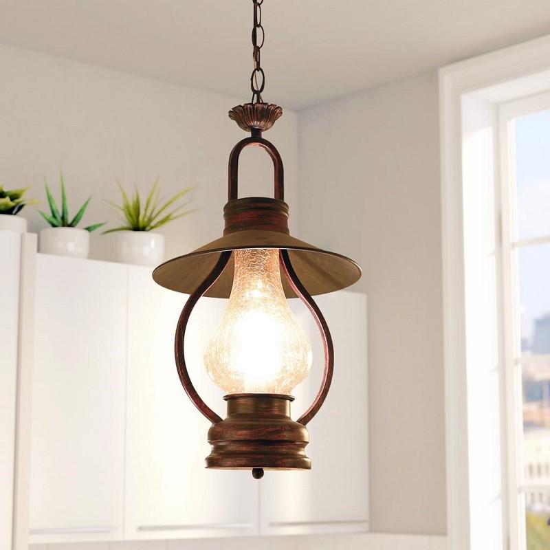 mẫu đèn dầu trang trí làm sinh động ngôi nhà