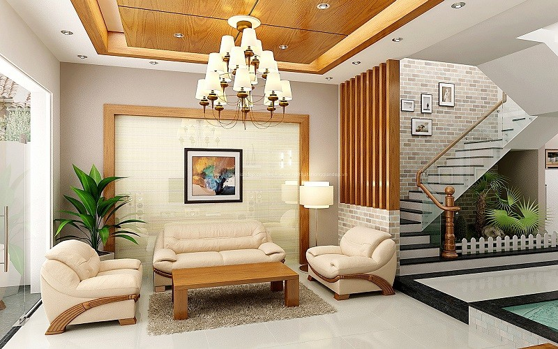 5 mẫu đèn trang trí phòng khách chung cư hiện đại nhỏ gọn