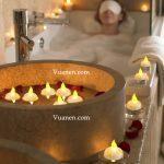 Tổng hợp các dòng nến dùng trong spa nhiều màu sắc đẹp mắt