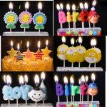 Những mẫu Nến trang trí sinh nhật đẹp đa dạng màu sắc và kích thước