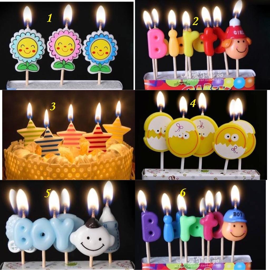 Nến trang trí sinh nhật