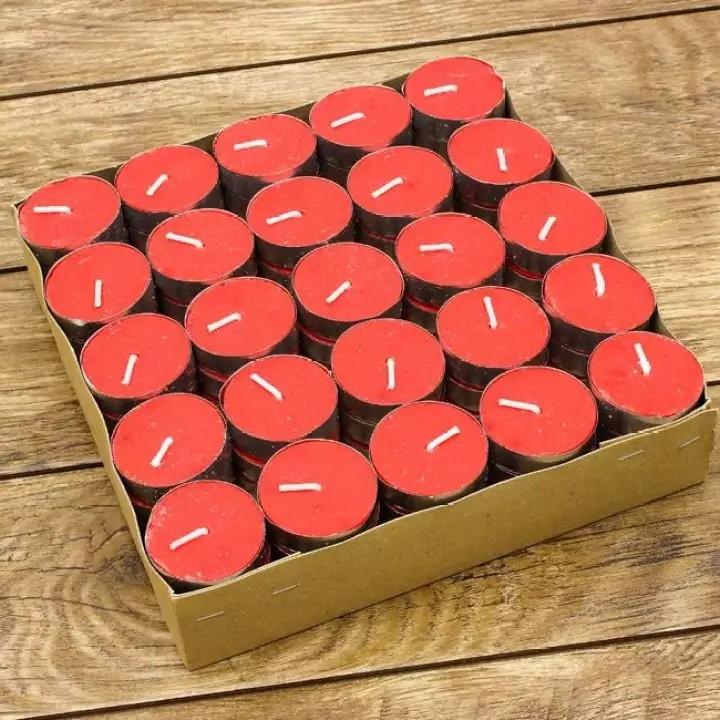 hộp nến tealght màu đỏ tuyệt vời