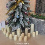 5ý tưởng trang trí Nến giáng sinh đơn giản trong ngôi nhà