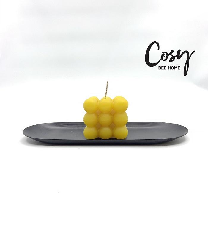 cây nến 3d ấn tượng được làm từ sáp ong nguyên chất