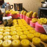 Nến sáp ong nguyên chất và các loại mùi hương nguyên chất